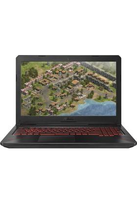 """Asus FX504GE-71220T Intel Core i7 8750H 16GB 1TB + 256GB SSD GTX1050Ti Windows 10 Home 15.6"""" FHD Taşınabilir Bilgisayar"""