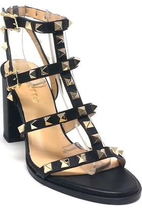Shop And Shoes 061-319107 Kadın Ayakkabı Siyah