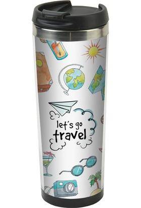 ALLMUG İçi Çelik Termos - Let's go travel