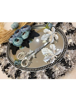 Atelier Es Söz Nişan Tepsisi Gümüş Çınar