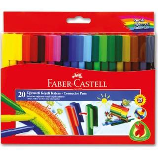 Faber-Castell Eğlenceli Keçeli Kalem 20'li
