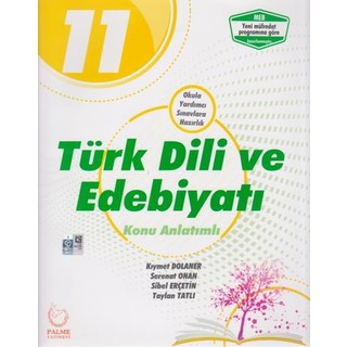 Palme Yayıncılık 11. Sınıf Türk Dili ve Edebiyatı Konu Anlatımlı
