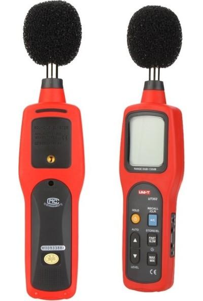 Unı-T Ut 352 Dijital Desibel Metre / Ses Ölçer Ut352