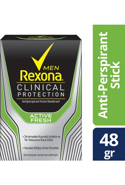 Rexona Clinical Protection Active Fresh Stick Deodorant 45 ml