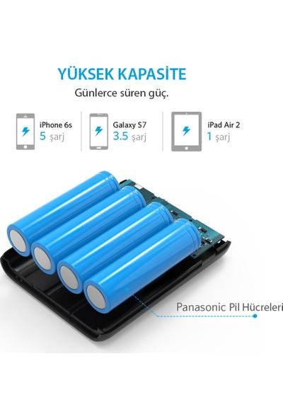 Anker PowerCore 10400 mAh Taşınabilir Şarj Cihazı PowerBank - İthalatçı Garantili