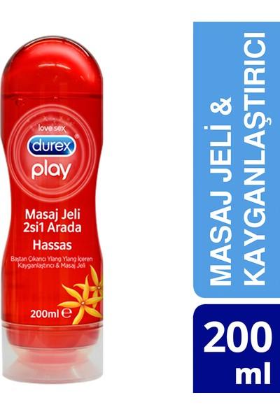 Durex Play Kayganlaştırıcı & Masaj Jeli Hassas Ylang 200 ml