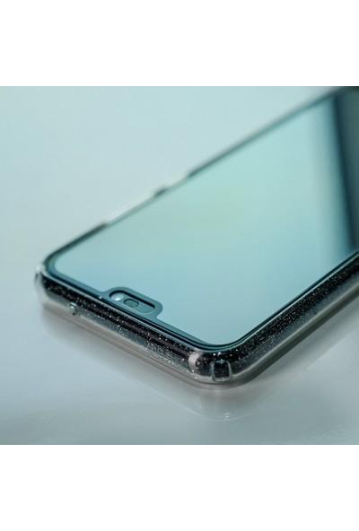 Spigen Huawei P20 Lite / Nova 3E Cam Ekran Koruyucu Tam Kaplayan Full Cover Black - L22GL23069