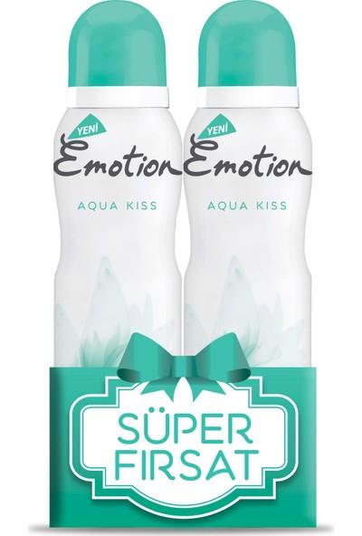 Emotion Aqua Kiss Deodorant 2'li Süper Fırsat Paketi