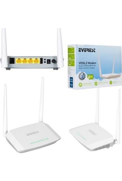 Everest Sg-1600 Ethernet 4 Port 300Mbps Kablosuz 5Dbn 2Ant.Adsl Modem