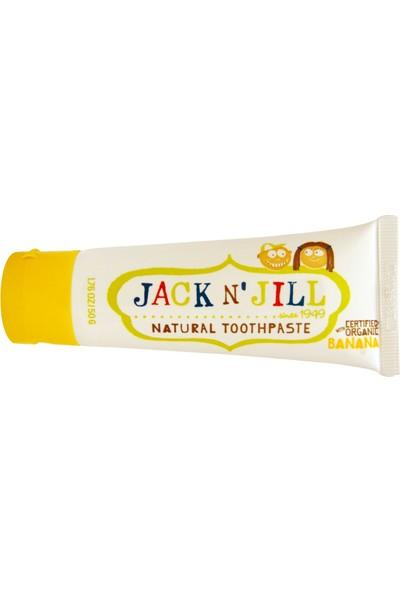 Jack N' Jill Doğal Diş Macunu Muz Aromalı 50 gr