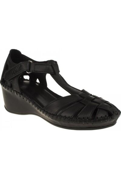 Venüs Kadın 18793505 Sandalet Siyah