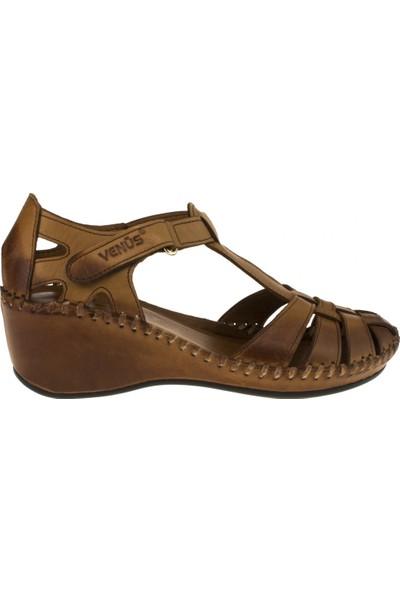 Venüs Kadın 18793505 Sandalet Taba