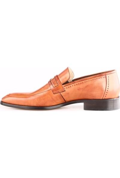 Nevzat Onay Erkek 422 - 223 Kösele Taban Klasik Ayakkabı Safran