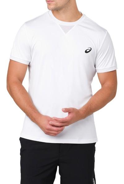 Asics Beyaz Erkek Tenis T-Shirt 154405-0014