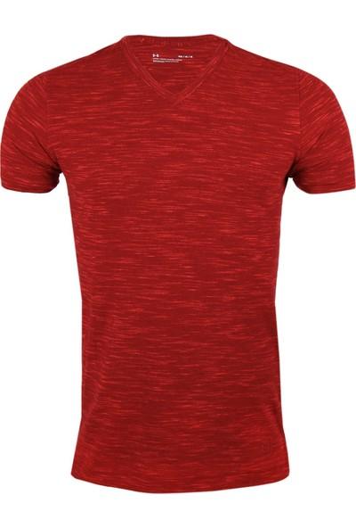 Under Armour Kırmızı Erkek T-Shirt 1306492-620