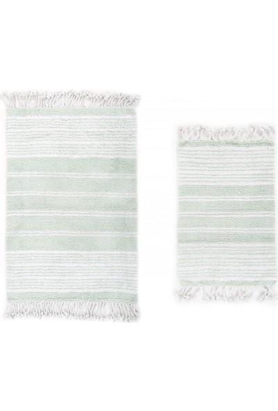 İrya Rela x Pamuk Paspas Yeşil 70 x 110 Cm