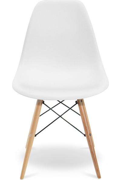 Eames Beyaz DSW Sandalye