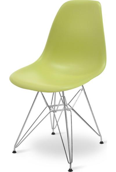 Eames Yağ Yeşili DSR Sandalye