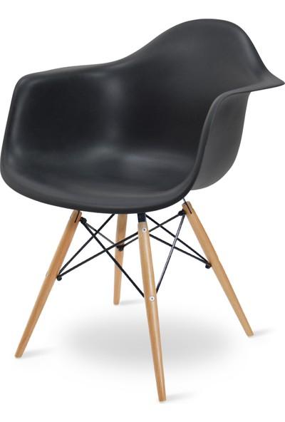 Eames Siyah DAW Sandalye
