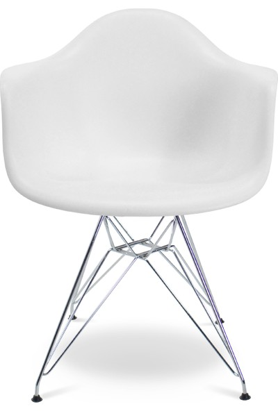 Eames Beyaz DAR Sandalye