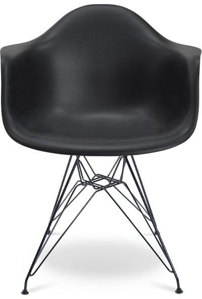 Eames Siyah DAR Sandalye