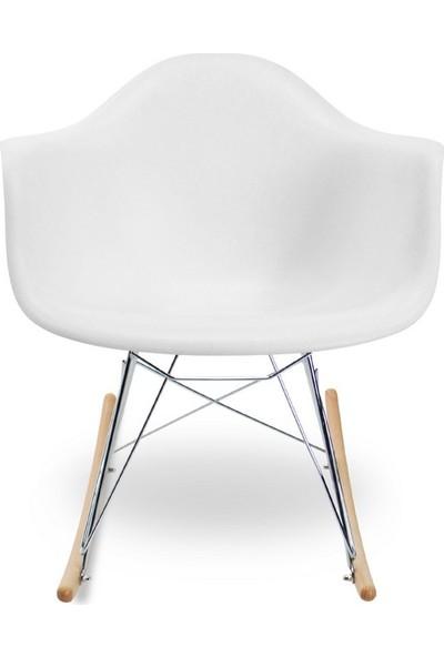 Eames Beyaz RAR Sandalye