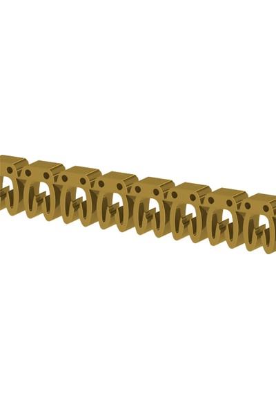 Klemsan Kodsis Kablo Etiketleme Ke1 (U) Harfi 517030