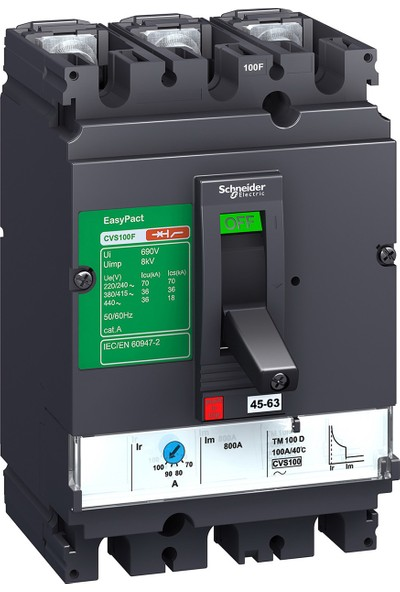 Schneider Electric 45-63A Lv510335 Kompakt Şalter