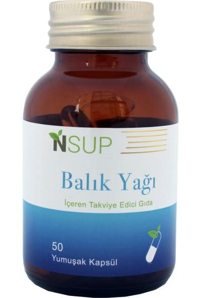 Nsup Omega 3 Fish Oil - Balık Yağı 1000 mg 50 Softjel