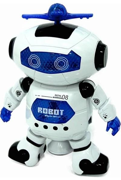 Naughty Dans Eden Işıklı Müzikli Hareketli Robot