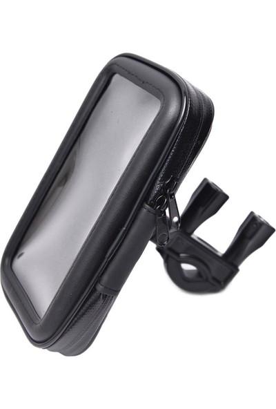 Appa Universal Küçük Boy Bisiklet/Motorsiklet Su Geçirmez Telefon Tutucu LC-115