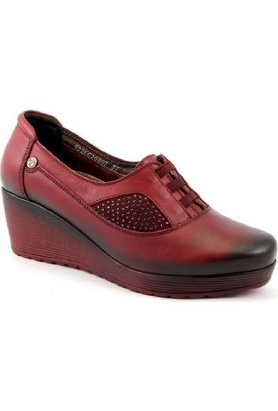 Forelli 26807-G Deri Comfort Ayakkabı