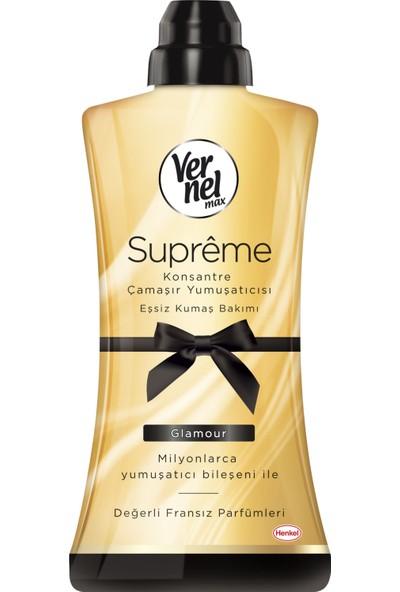 Vernel Max Supreme Konsantre Çamaşır Yumuşatıcısı Glamour 1200 ml 50 Yıkama