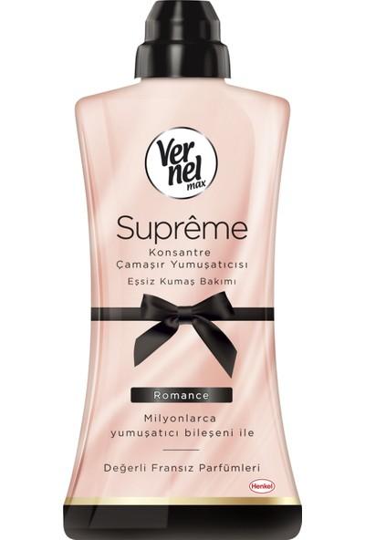 Vernel Max Supreme Konsantre Çamaşır Yumuşatıcısı Romance 1200 ml 50 Yıkama
