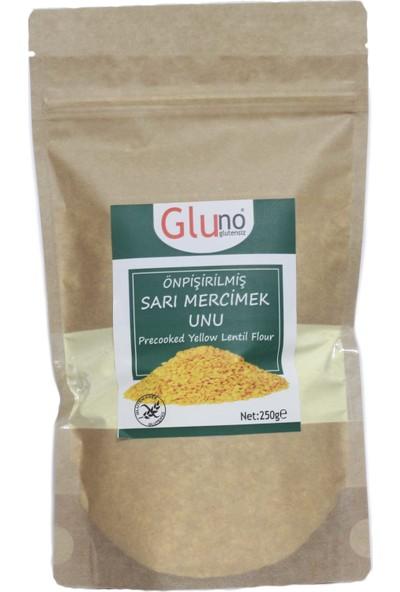 Gluno Glutensiz Önpişirilmiş Sarı Mercimek Unu 250 gr
