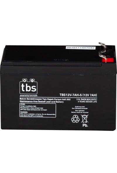 TBS 12V-7AH-5 UPS Tip Akü (TSK1454)