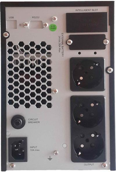 Tunçmatik Dexter1KVA1/1On-LineUPSLed (TSK5331)