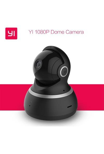 Xiaomi Yi Dome Kamera 360 Derece Dönebilen Gece Görüşlü IP Kamera HD 1080p Siyah (Global Versiyon)