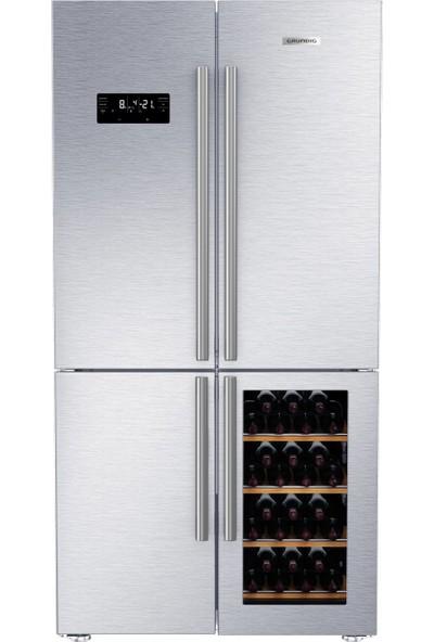 Grundig GQN 10510 X A+ 625 lt Buzdolabı
