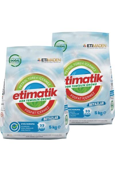 Etimatik Toz Deterjan Beyazlar 5 kg x 2