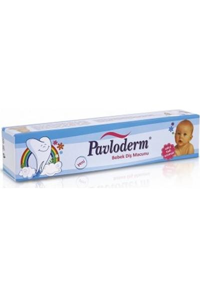 Pavloderm Bebek Diş Macunu 55 ml Çilek Tadı Aromalı