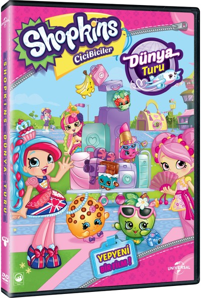 Cicibiciler : Dünya Turu - Shopkins : World Vacation DVD