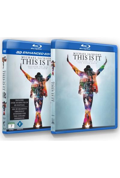 Michael Jackson'S This Is It ( Blu-Ray + 3D Blu-Ray Hediye)