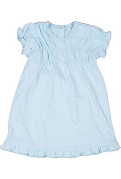 Bebepan Bebek Kısa Kol Penye Kız Elbise