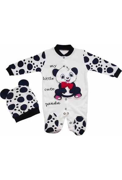 Necix Pandalı 2'li Bebek Tulum