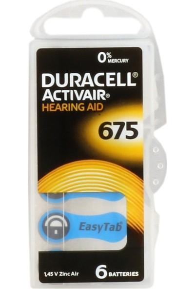 Duracell Activair 675 Numara Kulaklık Pili