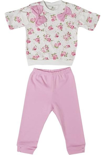 Bebiço Pembe - Kız Bebek Takım Bebek Kıyafeti
