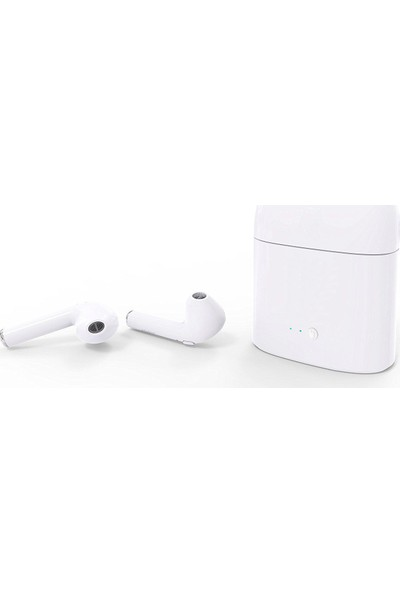 TWS i7S 2018 Versiyon 4.2 Stereo Bluetooth Kulaklık - Şarj Üniteli
