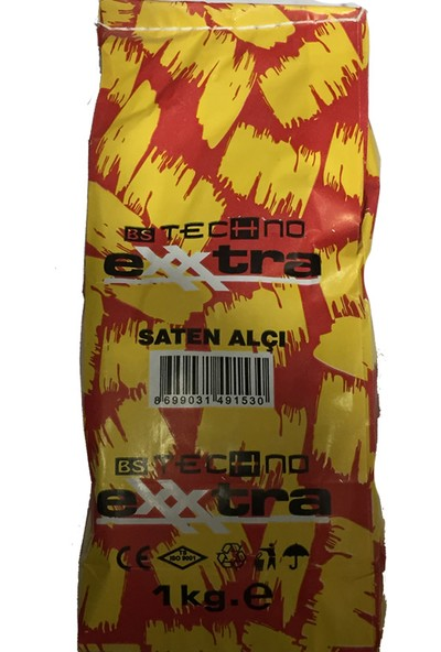 Exxtra Saten Alçı 1 kg