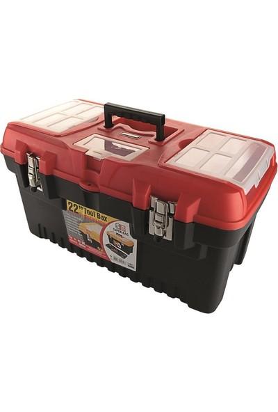 Probox 05319 Plastik Alet Çantası Metal Kilitli 57Cm